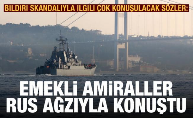 Taha Dağlı: Emekli amiraller Rus ağzıyla konuştu
