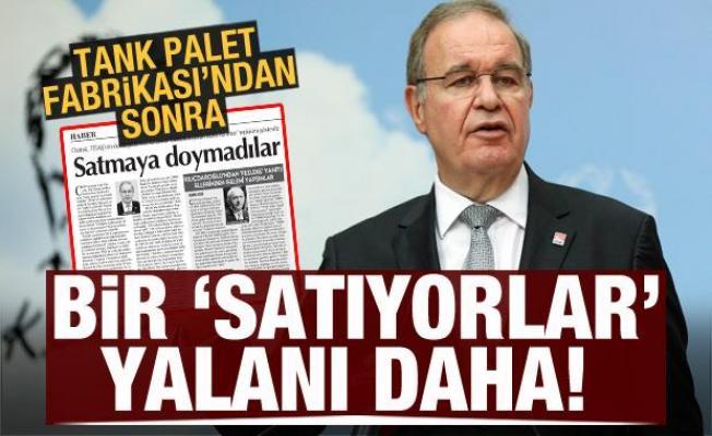 Tank palet fabrikasından sonra CHP'li Öztrak'ın bir iddiası daha yalan çıktı