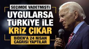 ABD'deki Türk sivil toplum kuruluşlarından Biden'a 24 Nisan çağrısı