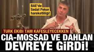 BAE'de Peker paniği! Türk ekip tam enseleyecekken CIA, MOSSAD ve Dahlan devreye girdi