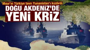 Doğu Akdeniz'de 18'inci parsel krizi! Mısır'ın Türkiye dikkati Yunanistan'ı kızdırdı