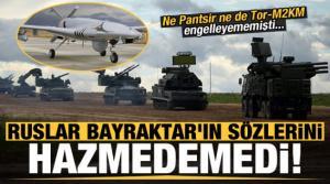 Ruslar Bayraktar'ın sözlerini hazmedemedi! Ne Pantsir ne de Tor-M2KM engelleyememişti...