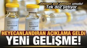 Son dakika: Johnson and Johnson umudu! Aşıda yeni gelişme, tek doz yetiyor...