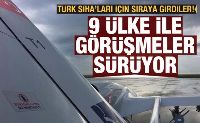 Türk SİHA'ları dünya gündeminde! 9 ülke ile görüşmeler sürüyor