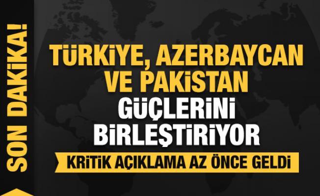 Türkiye-Azerbaycan-Pakistan toplantısında kritik kararlar