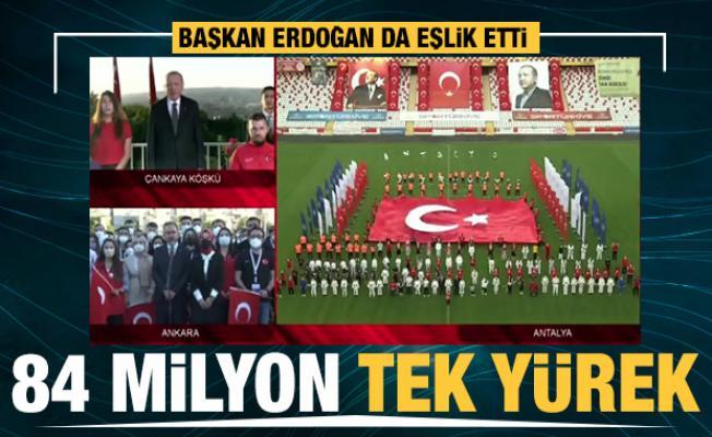 Türkiye genelinde 19 Mayıs için İstiklal Marşı okunuyor
