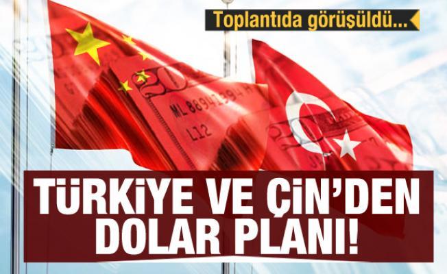 Türkiye ve Çin'den kritik dolar planı! Toplantıda görüşüldü...