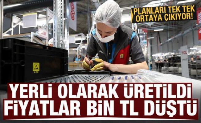 Türkiye'de üretilmeye başlandı, fiyatlar bin TL düştü!