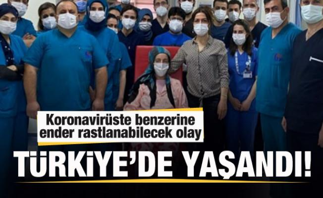 Türkiye'de yaşandı! Koronavirüste benzerine ender rastlanabilecek olay