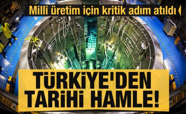 Türkiye'den tarihi nükleer reaktör adımı! Çalışmalar başladı