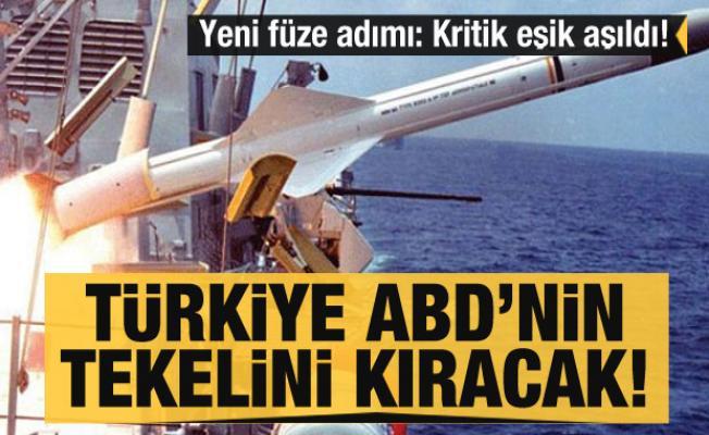Türkiye'den yeni füze adımı: Kritik eşik aşıldı! Türkiye ABD'nin tekelini kıracak