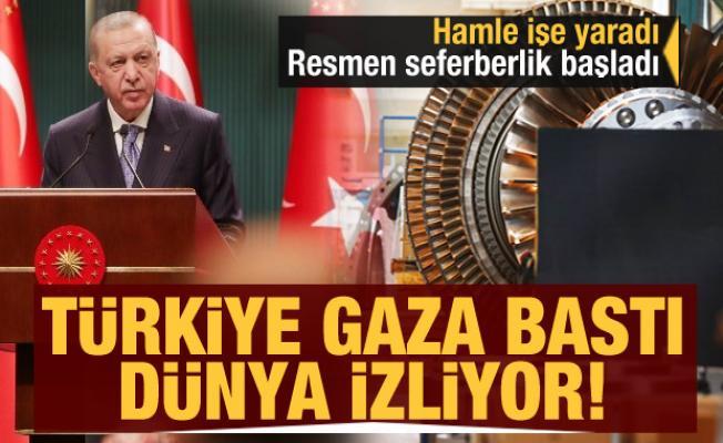 Türkiye'nin üretim hamlesi işe yaradı: Türkiye gaza bastı dünya izliyor