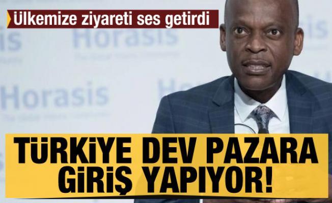 Türkiye'ye ziyareti ses getirdi! ''Türkiye 300 milyonluk bir pazara giriyor''