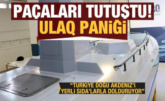 ULAQ paniği! ''Türkiye Doğu Akdeniz'i yerli SİDA'larla dolduruyor''
