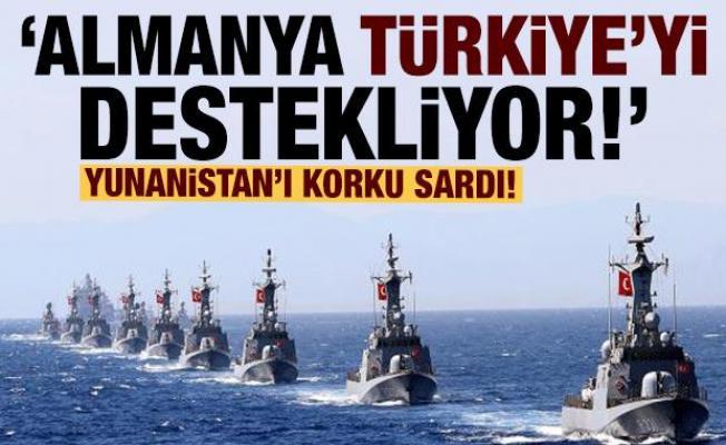 Yunan basını: Almanya Türkiye'yi destekliyor