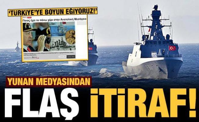 Yunan basınından flaş itiraf: Atina'da utanç! Türkiye'ye boyun eğiyoruz!