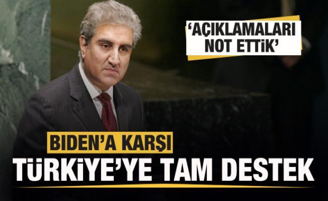 Yurt dışından Biden'a karşı Türkiye'ye destek mesajları