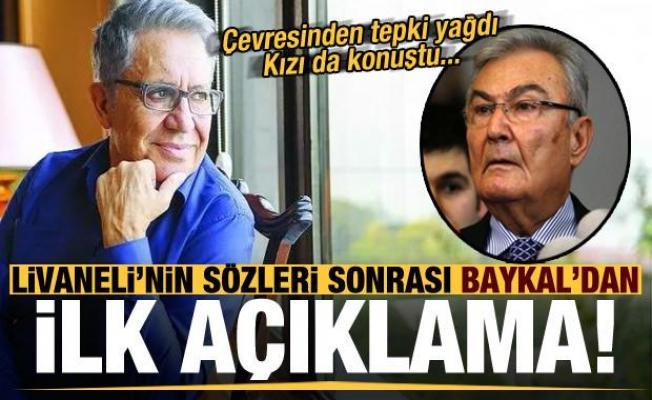 Zülfü Livaneli'nin sözleri sonrası Deniz Baykal'dan ilk açıklama!