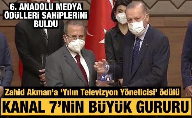 6'ncı Anadolu Medya Ödülleri sahiplerini buldu