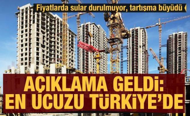Açıklama geldi: Dünyanın en ucuzu Türkiye'de! Fiyatlar yüzünden tüm inşaatlar durdurulmuştu!