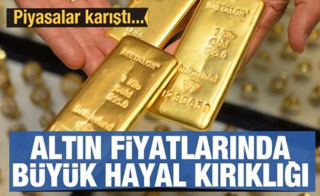 Altın fiyatlarında büyük hayal kırıklığı