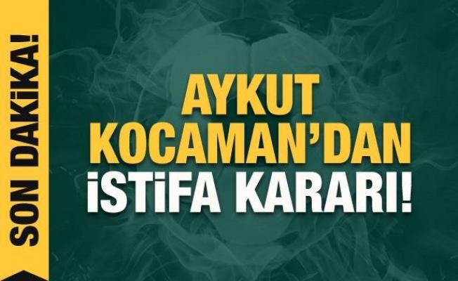 Aykut Kocaman'dan istifa kararı!