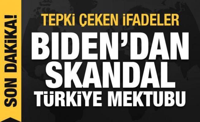 Biden'dan skandal Türkiye mektubu: DAEŞ ile mücadelemize zarar veriyor