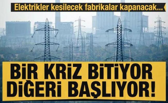 Bir kriz bitiyor diğeri başlıyor! Elektrik kesintileri ve fabrikaların kapanması gündemde