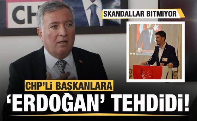 Bir skandal daha! CHP'li Başkana 'Erdoğan' tehdidi!