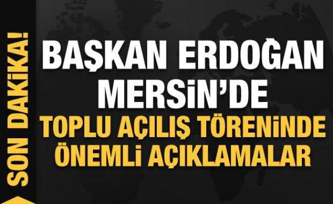 Cumhurbaşkanı Erdoğan'dan 2023 mesajı: Hedeflerimizin en önemli parçası!