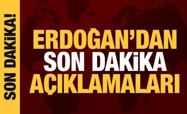 Cumhurbaşkanı Erdoğan'dan yüz yüze eğitimle ilgili net mesaj!