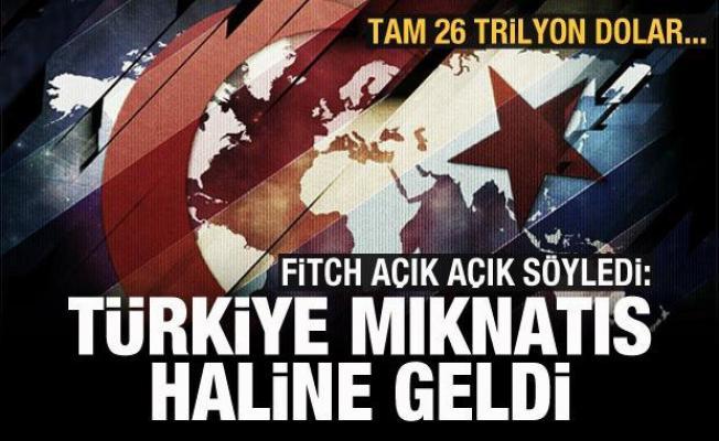 Fitch, açık açık söyledi: Türkiye mıknatıs haline geldi! Tam 26 trilyon dolar...