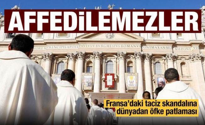 Fransız kiliselerindeki çocuk istismarı Avrupa'nın manşetlerinde