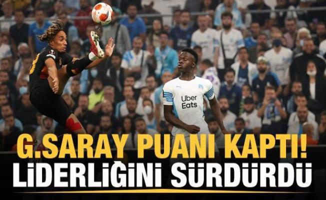 Galatasaray puanı kaptı, lider döndü!