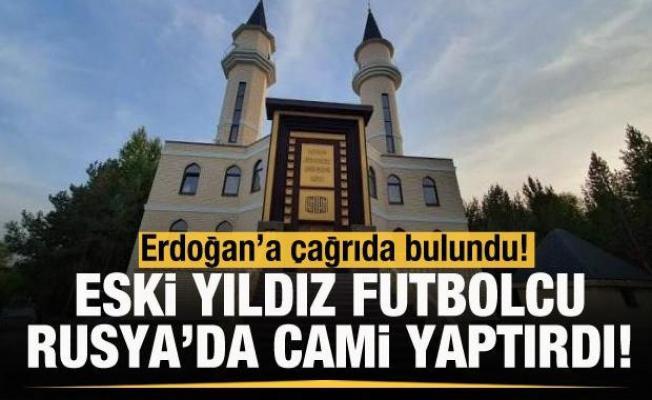 Gökdeniz Karadeniz Rusya'da cami yaptırdı! Erdoğan'a çağrı...
