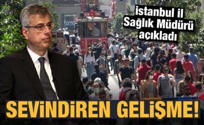 İstanbul İl Sağlık Müdürü açıkladı: Sevindiren gelişme!