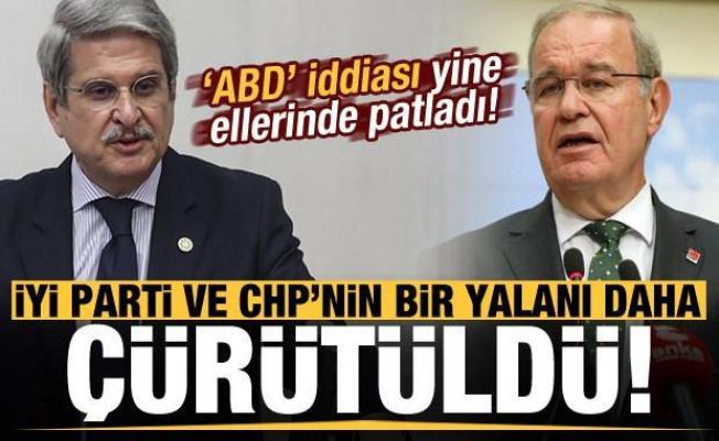 İYİ Parti ve  CHP'nin bir yalanı daha çürütüldü!
