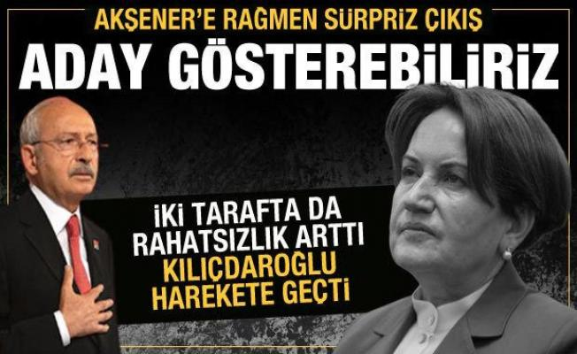 İYİ Parti'de Akşener'e rağmen sürpriz çıkış: Aday gösterebiliriz