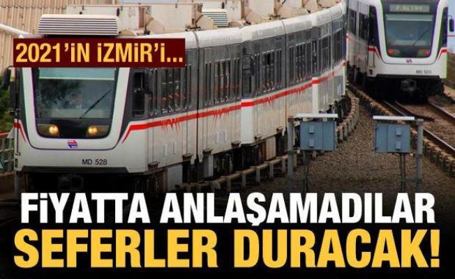 İzmir'de grev kararı: Metro ve tramvay seferleri duracak
