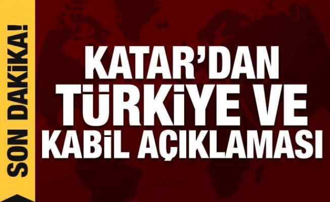 Katar'dan son dakika Türkiye Kabil Havalimanı açıklaması