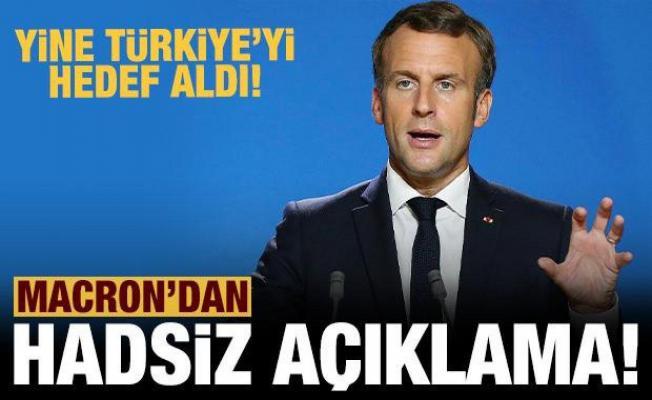 Macron'dan hadsiz açıklama! Cezayir üzerinden Türkiye'yi hedef aldı!