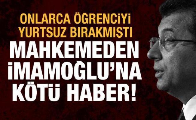 Mahkeme TÜRGEV'i haklı buldu, İBB'nin kararı iptal edildi