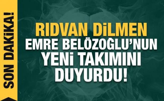 Rıdvan Dilmen duyurdu!