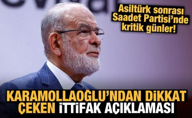 Saadet Partisi'nde kritik günler! Karamollaoğlu'ndan dikkat çeken ittifak açıklaması