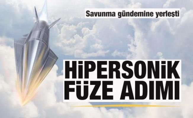 Savunmada hipersonik füze çılgınlığı! Bir dev daha açıkladı