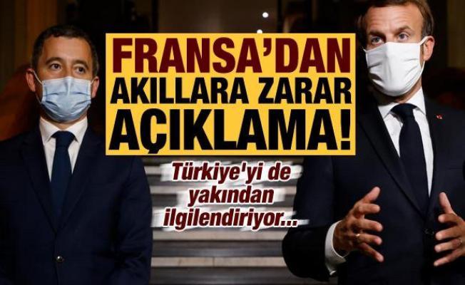 Son dakika: Fransa'dan akıllara zarar açıklama! Türkiye'yi de yakından ilgilendiriyor...