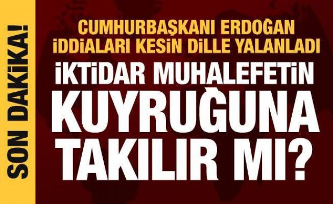 Son dakika haberi: Erdoğan'dan parlamenter sistem iddialarına net yanıt: Asla olamaz