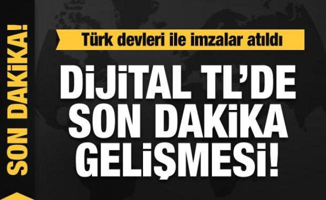 Son dakika haberi: İmzalar atıldı! Dijital Türk Lirası İşbirliği Platformu kuruldu