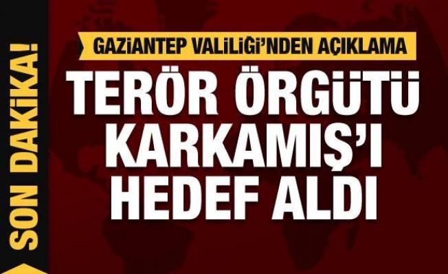 Son dakika: Terör örgütü PKK/PYD Karkamış'ı hedef aldı