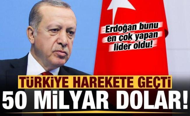 Son dakika: Türkiye harekete geçti! 50 milyar dolar ve 50 büyükleçilik...